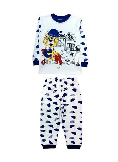 By Leyal For Kids Pijama Takım Mavi
